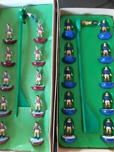 Subbuteo West Ham (Aston Villa) & Scotland Complete HW Teams 1970s
