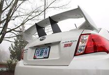 Perrin Wing Spoiler Stabilizer Stiffi For 2011-2014 STi Sedan 4-Door Blk