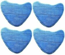 4 x Velcro Steam Mop Pads For VAX S86-SF-C Steam Fresh Combi Classic 10 in 1