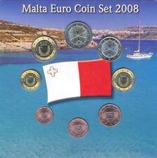 EURO KMS Malta 2008 - AKM Coin Set