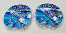 Abreva Cold Sore Fever Blister Treatment PUMP .07oz 2g EXP 07/22+ (2 Packs)