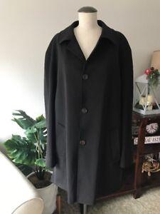 MOVIMENTO Wool Sport Storm System Coat Jacket 44 R Italy Made  *EUC*