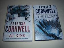 2 x Books The Front & At Risk,1 & 2 the Win Garano series,  By Patricia Cornwell