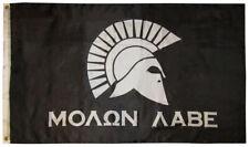 Molon Labe 2nd Amendment Come & Take It Military Spartan 3x5 Flag Banner 100D