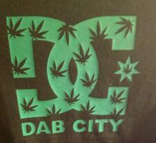 Dab City  DC  420 marijuana, weed, pot T-shirt RX legalize BHO 710 green