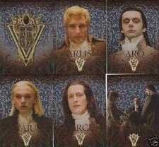 Twilight New Moon Volturi Topps Set VO 1 2 3 4 5 6