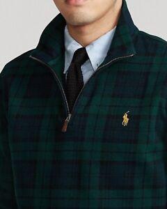 NWT Men's Polo Ralph Lauren Tartan Estate Rib Pullover MSRP $110