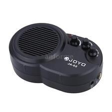 JOYO JA-02 3W Mini Electric Guitar Amp Amplifier Speaker Black New M8B9
