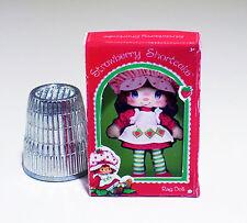 Dollhouse Miniature 1:12 Strawberry Shortcake Rag Doll Box  1980s Dollhouse girl