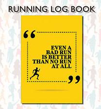 Running Log Book, Running Diary, Run Tracker, Run Recording Log, Runners Log 09