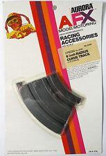 "2pc 1972 Aurora AFX Slot Car 1/8 6"" INSIDE CURVE TRACK Rare Card Speed-Lok #2440"