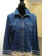 Liz Claiborne vintage denim jacket, size L/14, NWT
