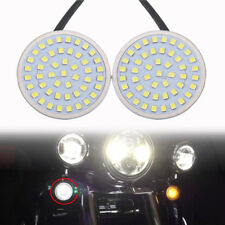Motorcycle Bullet 1156 LED Turn Signal Light Inserts For Harley Touring Softail