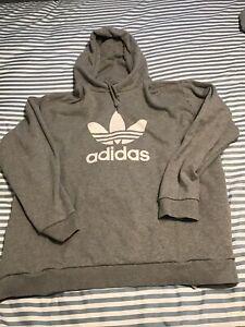 Adidas hooded sweatshirt 2xl