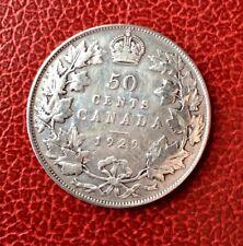 CANADA -  Jolie monnaie de 50  Cents  1929