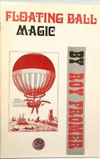 Floating Ball Magic Booklet Book Stage Tricks Levitation Hat Egg Cards Zombie