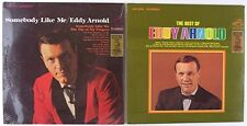 Lot of 2 Eddy Arnold Vinyl LPs, The Best of Eddy Arnold & Somebody Like Me