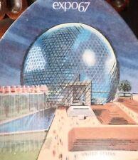 vintage Expo 67 souvenir DISH plate melamine Mid century modern MONTREAL bowl