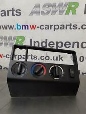 BMW E36 3 SERIES Compact Heater Control Panel 64118368037/64118363870