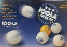 Tischtennisbälle Joola Super40 3 Sterne *** 6 - 72 Bälle  jetzt günstig !!!