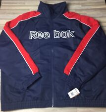 $180 Reebok Performance Soft Shell Mens Size 4XL Jacket Water Resistant OXRB323D