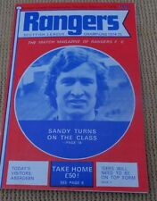 RANGER V Aberdeen, 7 FEBBRAIO, 1976