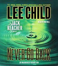 Lee CHILD / (Jack Reacher 18) NEVER go BACK      [ Audiobook ]