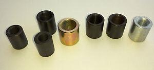 METRIC RIGHT LEFT HAND Threaded Insert Tube Adaptor Rose Joint pipe Joiner Bush