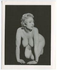 MAXINE ELLIS/ ELAINE ECKE BURLESQUE  1950 Original Vintage Pinup Photo  B5179
