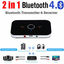 2-in-1 Wireless Bluetooth Stereo Transmitter and Receiver Audio Player Adapter