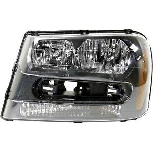 Headlight For 2002-2009 Chevrolet Trailblazer Driver Side w/ bulb