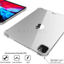 2020 Apple iPad Pro 12.9 Shockproof Transparent Case with Screen Protector