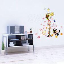 """Top Qualité """"CHATS & FLEURS de PVC cuisine mur porte meuble Stickers Art Decals"""