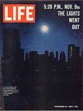 Life Magazine November 19 1965 Birthday Times Square Blackout VG 051816DBE