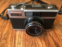 Fujica Compact 35 35mm Film Camera Sold As Is Untested