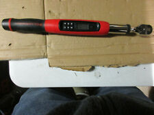 Gearwrench 85076 3/8 Drive Electronic Torque Wrench 7.4-99.6 Ft Lb