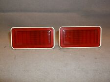 1969 MERCURY COUGAR CYCLONE FORD MUSTANG GALAXIE PAIR REAR SIDE MARKER LIGHTS