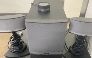 Bose Companion 5 Multimedia Speaker System Computer Speakers-factory refurbished