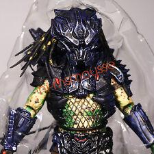 "NECA Battle Armor Lost Predator 2 Borg Green 7"" Action Figure Series 11 Loose"