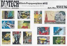 Alliierte Propagandaplakate WWII 1:35 von DIOTECH