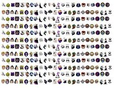 282 Water Slide Decals Disney Villains