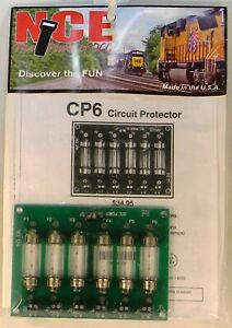 NEW All Scales NCE 227 CP6 Circuit Protector