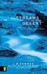 Streams in the Desert: 366 Daily Devotional Readings, An Updated Edi - VERY GOOD