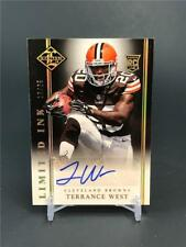 2014 PANINI LIMITED TERRANCE WEST ROOKIE AUTO 19/25 CLEVELAND BROWNS
