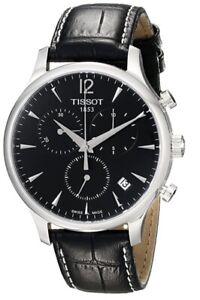 Tissot Tradition Quartz Chronograph Mens Watch T063.617.16.057.00. T063617160570