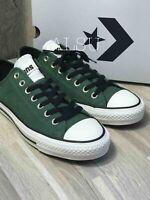 Sneakers Men's Converse Chuck Taylor All Star Pro Nubuck Fir Green Black Low Top