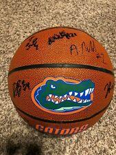 2018 2019 Florida Gators Team signed basketball autographed AUTO