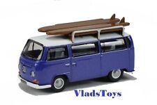 Oxford Moulé sous Pression 1/76 VW Volkswagen T2 Baie Vitrée Bus Violet W/