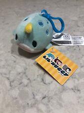 "Fiesta Toys Lil Huggy Narwhal Soft Plush Keychain 3.5"" A17"