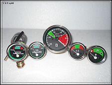 Massey Ferguson Tractor- Tachometer + Temp Gauge + Oil Pressure + Volt + Fuel